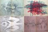 Suites n°3 Galerie Krugier Samlertryk af Wilfredo Lam