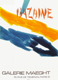 Expo Galerie Maeght 72 Collectable Print by Jean Bazaine