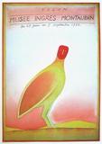 Expo 1982 - Musée Ingres Samlartryck av Jean Michel Folon