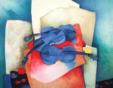 S - Violon Bleus Limited Edition by Claude Gaveau
