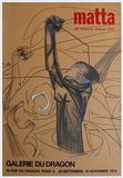 Expo Galerie Du Dragon Impressão colecionável por Roberto Matta