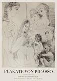 Expo 71 - Kölnischer Kunstverein Impressão colecionável por Pablo Picasso