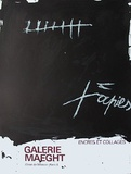 Expo Encres et collages Collectable Print by Antoni Tapies