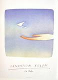 Expo 2000 - Fondation Folon La Hulpe Collectable Print by Jean Michel Folon