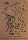 Expo 84 - Galerie du 7 rue Princesse Collectable Print by Henri Cueco