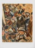 Soiree Mondaine Samlarprint av Jules Pascin