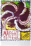Expo Maeght Editeur Samlartryck av Pierre Alechinsky
