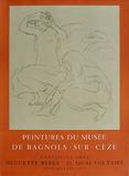 Expo Galerie Huguette Bérès Collectable Print by Pierre-Auguste Renoir