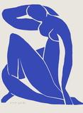 Verve - Nu bleu IX Samletrykk av Henri Matisse