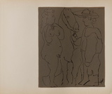 LC - Picador femme et cheval Impressões colecionáveis por Pablo Picasso