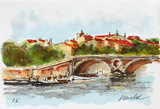 Toulouse II Collectable Print by Urbain Huchet