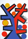 Asymetrie Reproductions pour les collectionneurs par Alexander Calder