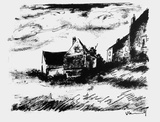 La Potiniere a Rueil Collectable Print by Maurice De Vlaminck