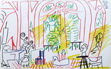 Carnet de Californie 37 Reproduction pour collectionneur par Pablo Picasso