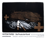 Expo Galerie Biedermann Collectable Print by Antoni Tapies