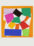 Verve - L'escargot Samletrykk av Henri Matisse