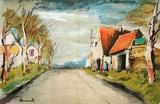 Maurice De Vlaminck - La Route Reprodukce vhodná do sbírky