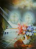 Le piano blanc Edición limitada por Raymond Poulet