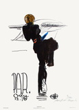 Silhouette - Paris Orly 12.70 Limited edition van Florent Margaritis