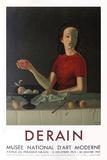 Expo Musée National D'Art Moderne Samlertryk af André Derain