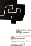 Librairie des Arts Samlertryk af Eduardo Chillida