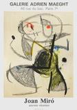 Expo 83 - Galerie Maeght コレクターズプリント : ジョアン・ミロ