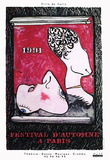 Festival D'Automne Samlertryk af Jasper Johns