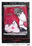 Jasper Johns - Festival D'Automne - Koleksiyonluk Baskılar
