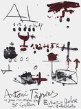 Expo Erker Galerie Collectable Print by Antoni Tapies