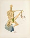 Divine Comedie, Enfer 05: Minos Keräilyvedokset tekijänä Salvador Dalí