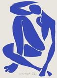 Verve - Nu bleu XI Samletrykk av Henri Matisse