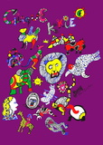 Cirque Knie Serigrafi af Niki De Saint Phalle