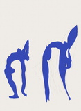 Verve - Acrobates Collectable Print by Henri Matisse