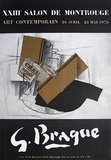 Expo Salon De Montrouge Collectable Print by Georges Braque