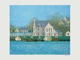 Le Port Du Guildo II Reproduction pour collectionneur par André Bourrié