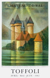 Expo Château de Val Collectable Print by Louis Toffoli