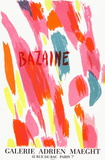 Expo Galerie Maeght Collectable Print by Jean Bazaine