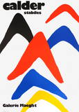 Expo Stabiles Reproductions de collection par Alexander Calder