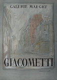 Expo Galerie Maeght 54 Samlertryk af Alberto Giacometti