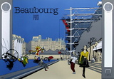 Beaubourg Collectable Print by  Otso