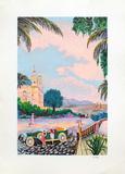 Villegiature Sur la Cote Dazur Edition limitée par Ramon Dilley