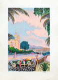 Villegiature Sur la Cote Dazur Særudgave af Ramon Dilley