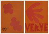 Verve - Couverture Eksklusivudgaver af Henri Matisse