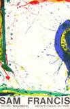 Metaphysique du Vide Impressões colecionáveis por Sam Francis