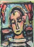 Pierrot Samlartryck av Georges Rouault