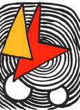Composition V Reproduction pour collectionneurs par Alexander Calder