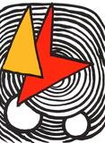 Composition V Impressão colecionável por Alexander Calder