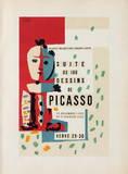 Comédie Humaine : Frontispice Samlertryk af Pablo Picasso