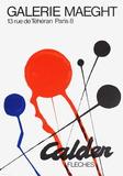 Expo Fleches Sammlerdrucke von Alexander Calder