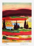Petite Suite - Paysage du Midi III Limited Edition by Francois D'arguin